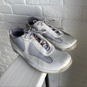 Vintage Prada Sneaker America's Cup 3163 Sz 37.5